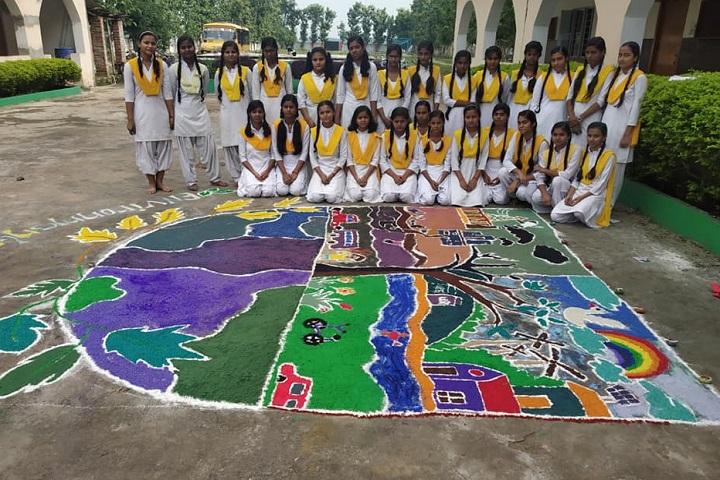 Cambridge Public School-Rangoli Competition