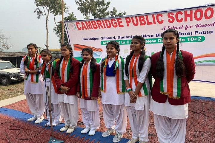 Cambridge Public School-Singing