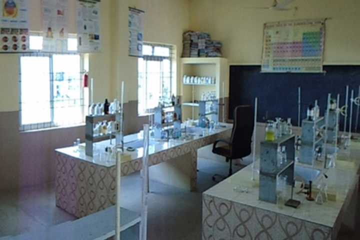 The Creative Public Higher Secondary School-Chemistry Labs