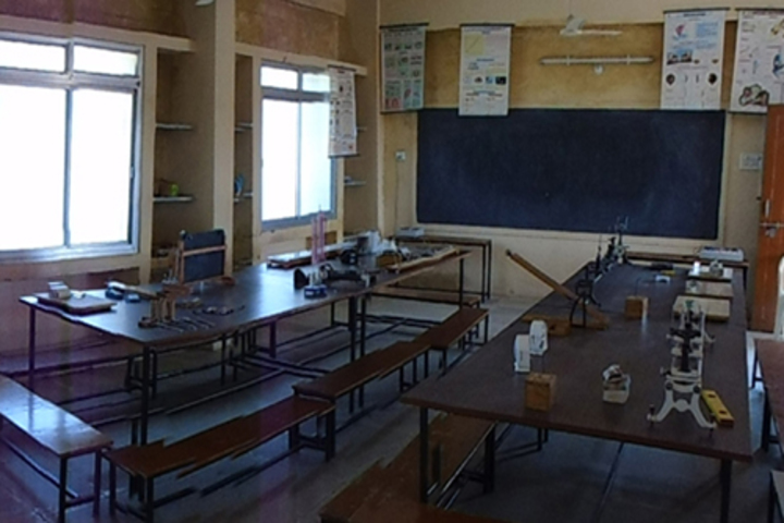 The Creative Public Higher Secondary School-Physics Labs