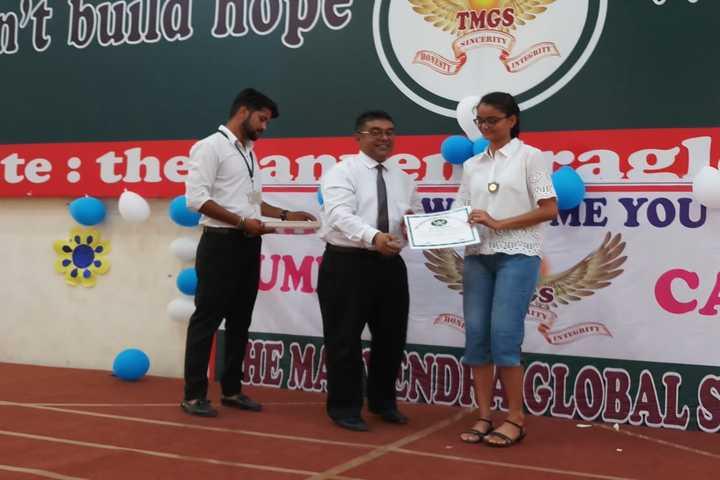 The Manvendra Global School-Certification