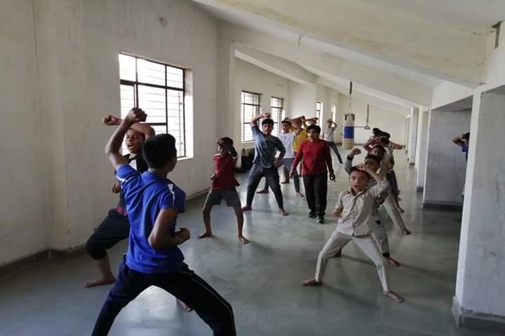 The Manvendra Global School-Karate