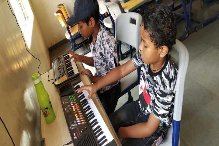 The Manvendra Global School-Music Room