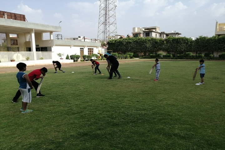 The Manvendra Global School-Play Area