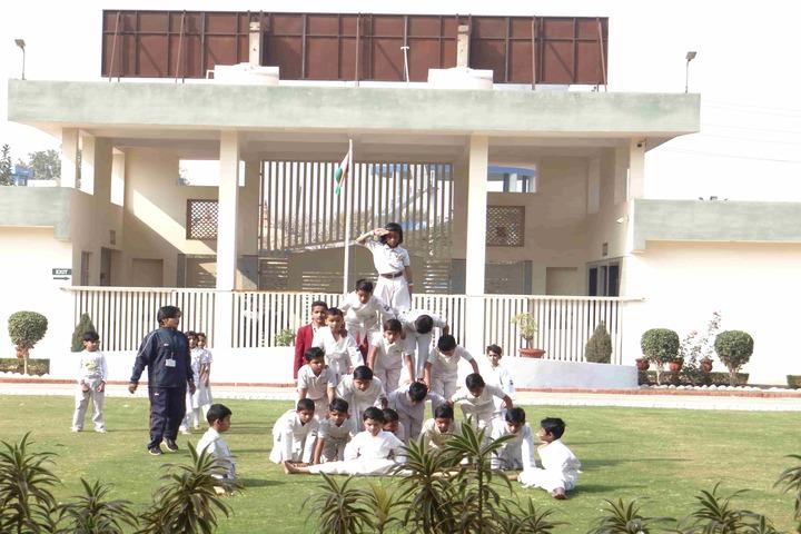 The Manvendra Global School-Republic Day