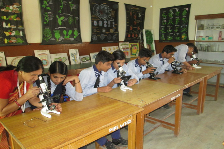 The Pacific International Public School-Bio Labs