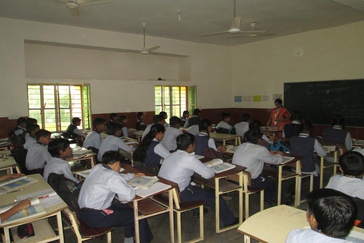 The Pacific International Public School-Classroom