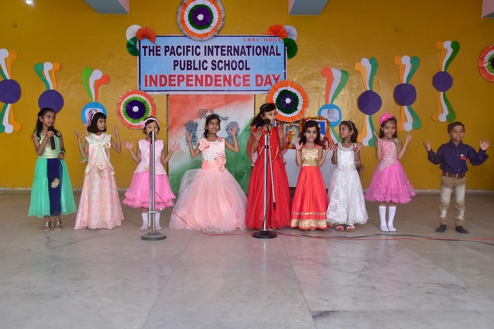 The Pacific International Public School-Independence Day
