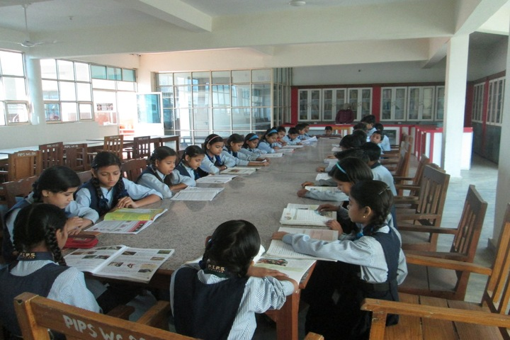 The Pacific International Public School-Library