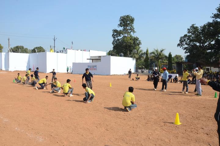 The Pacific International Public School-Play Area