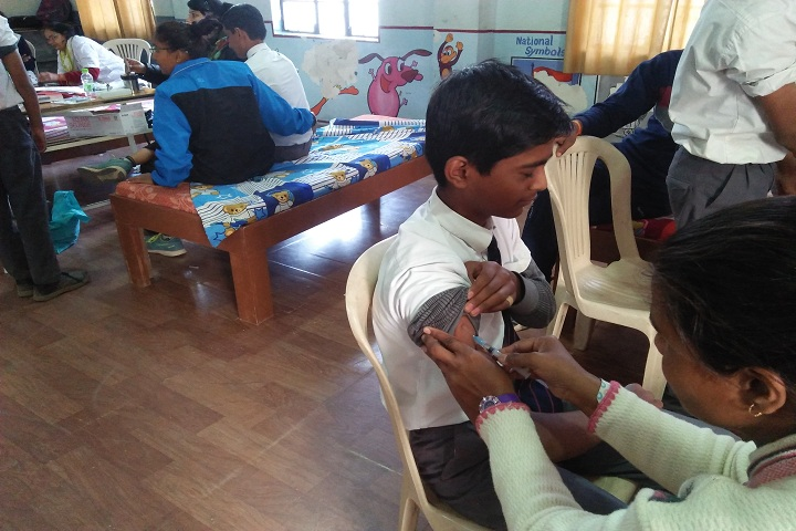 Vatsalaya Public School - Medical Camp