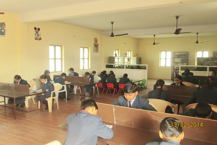 Vidyavati Public Central School-Library
