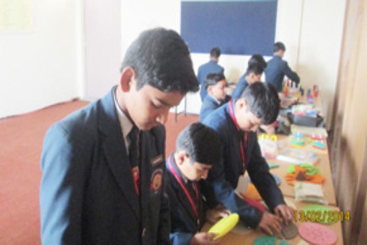 Vidyavati Public Central School-Maths lab