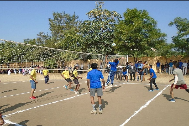 VIMLA CONVENT HIGHER SECONDARY SCHOOL-Volley Ball Court