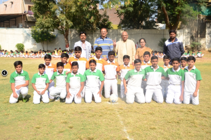 Vindhyachal Academy-Sports team