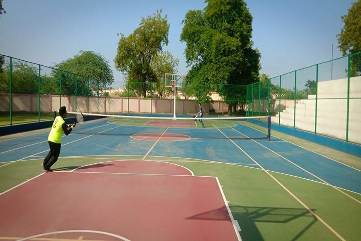 Vivekanand Vidya Vihar-Basket Ball Court