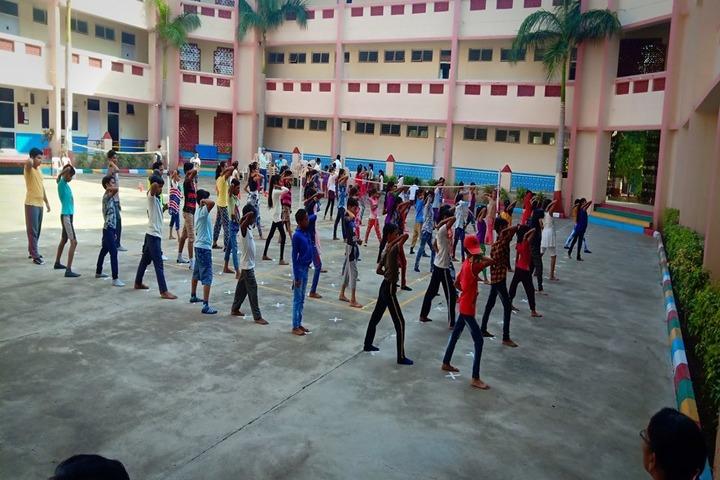 Vivekanand Vidya Vihar-Karate Activity
