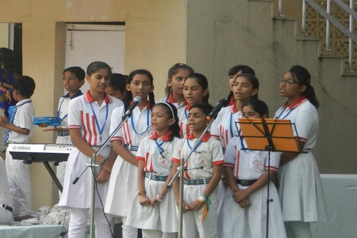 Vivekanand Vidya Vihar-Singing Event