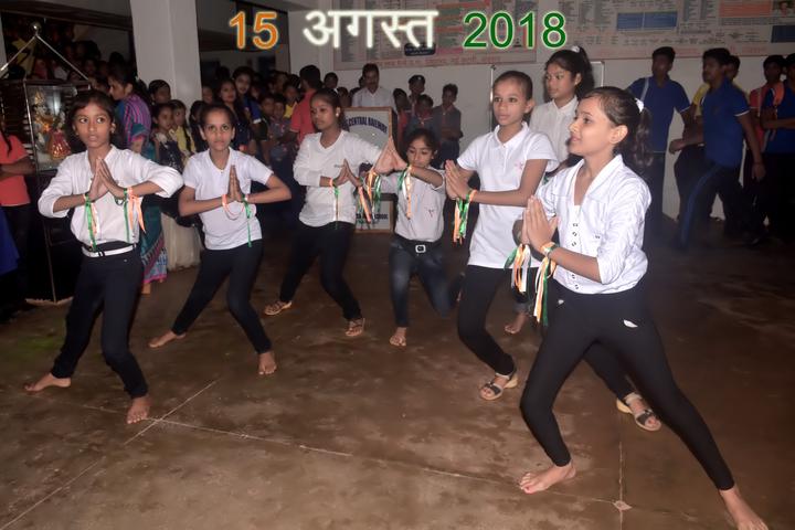 West Central Railway Hr Sec School-August 15 celebrations