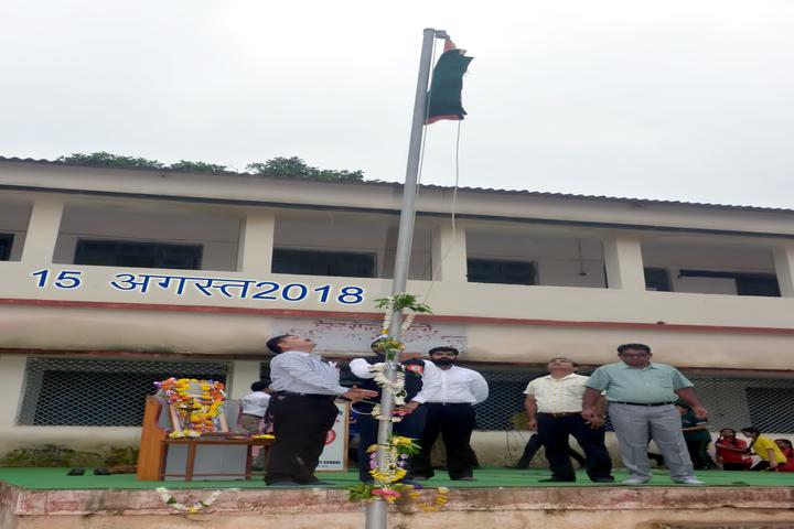 West Central Railway Hr Sec School-Flag Hoisting
