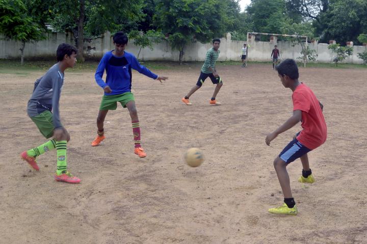 West Central Railway Hr Sec School-Football ground