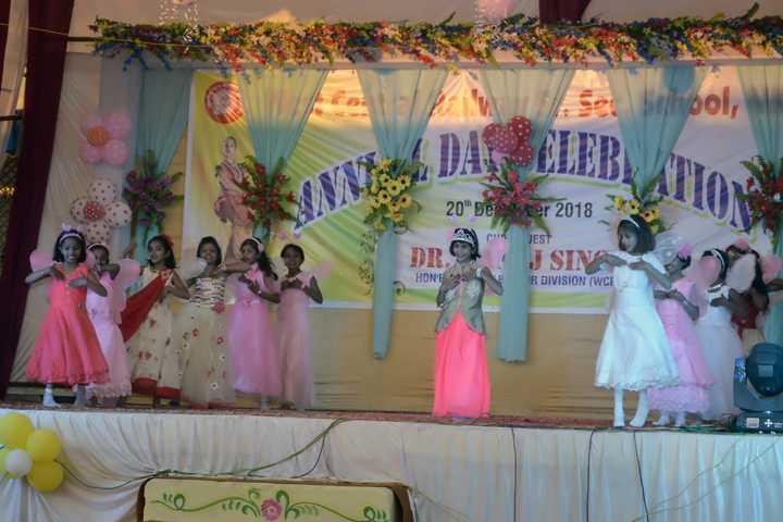 West Central Railway Hr Sec School-Kids Dance