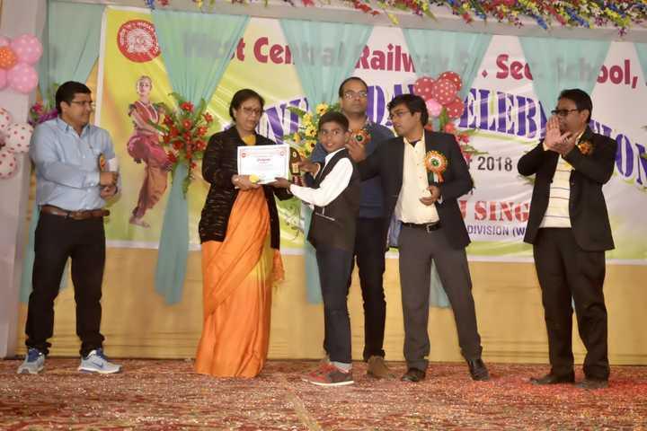 West Central Railway Hr Sec School-Prize Distribution