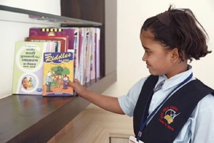 Aarya Public School-Library
