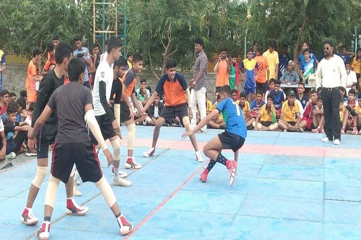 Aarya Public School-Sports kabbadi