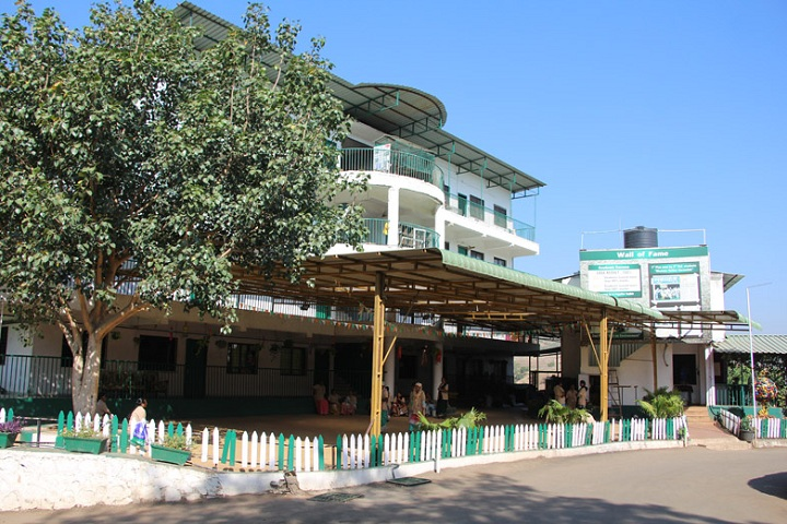 Aaryans School-Campus-View