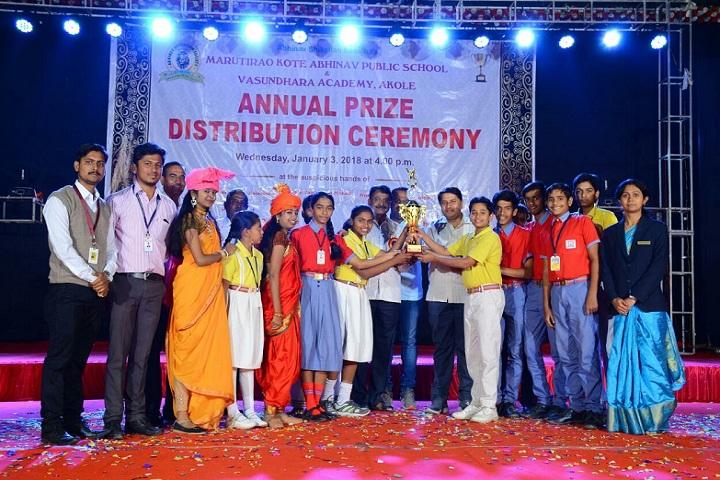 Abhinav Education Societys Vasundhara Academy-Others prize