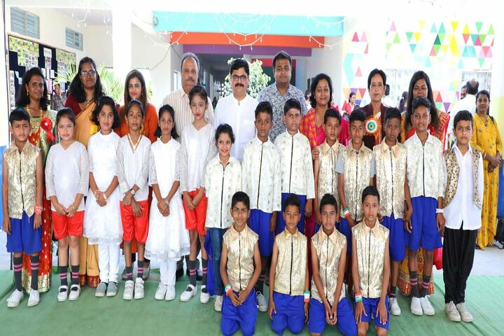 Abhyasa English School-Group Photo