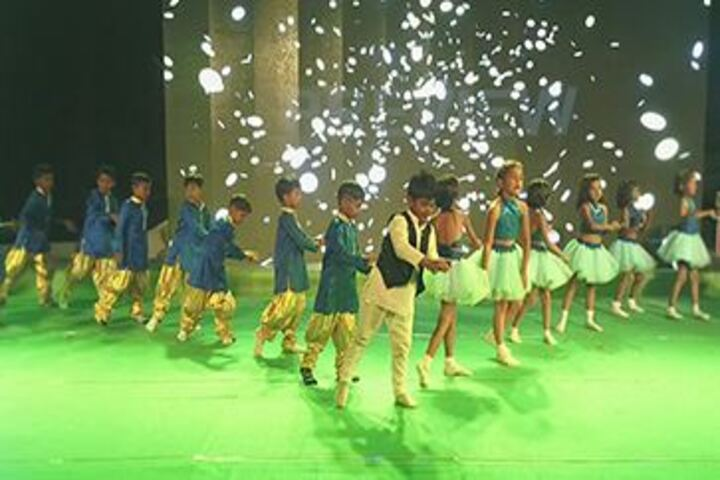 Abhyasa English School-Kids Dance