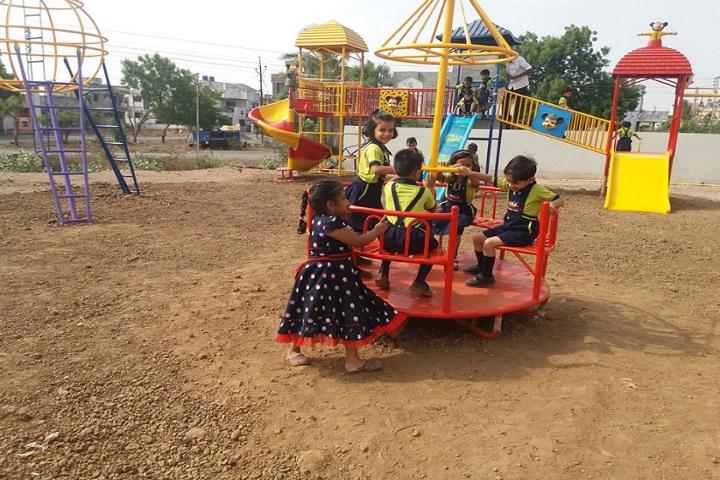 Achievers Heights International School-Children ground