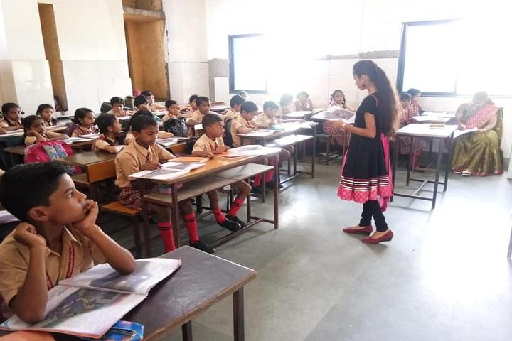 Adarsh Sanskar Vidyalaya-Classroom with teacher