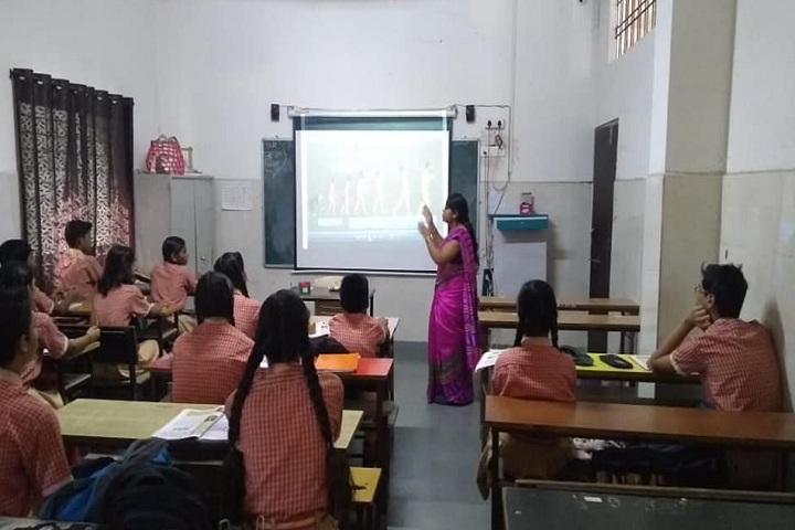 Adarsh Sanskar Vidyalaya-Classroom smart
