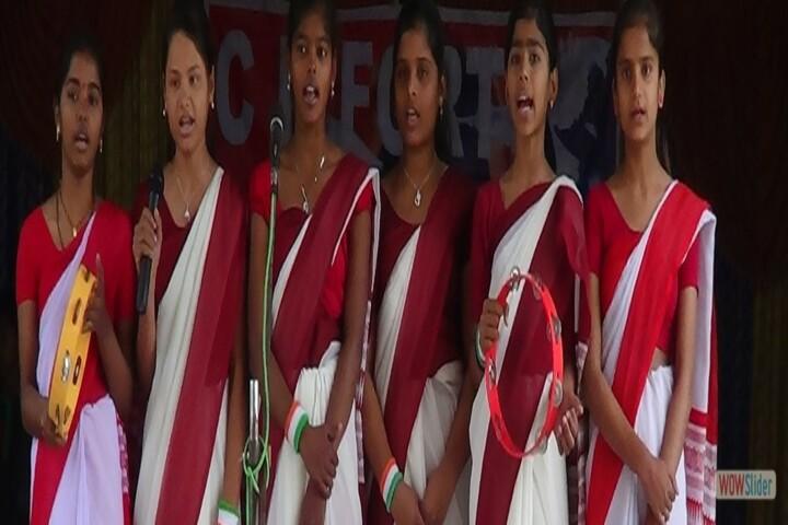 CD Fort Public School-Singing