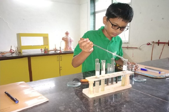Aditya English Medium School-Laboratory Chemistry