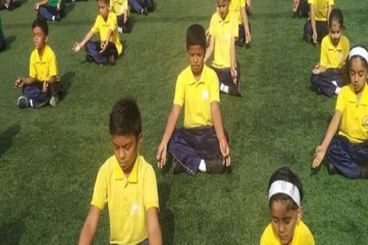 Aditya English Medium School-Yoga