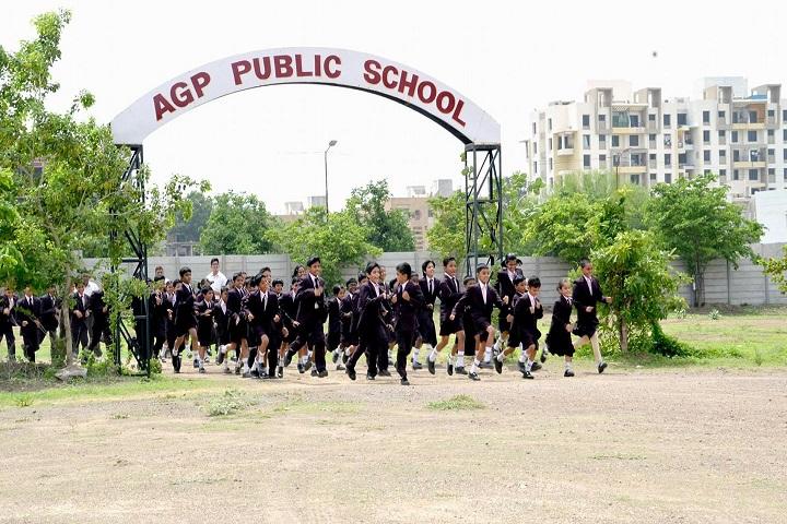 AGP Public School-Entrances