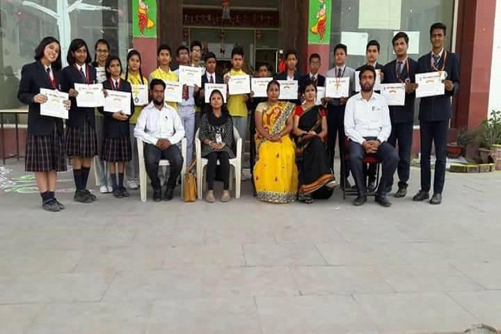 AGP Public School-Inter School Science Project Competition Winner