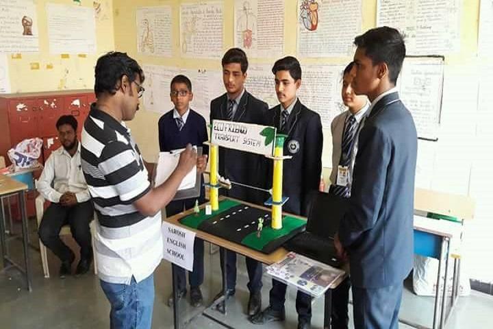 AGP Public School-Science Exhibition