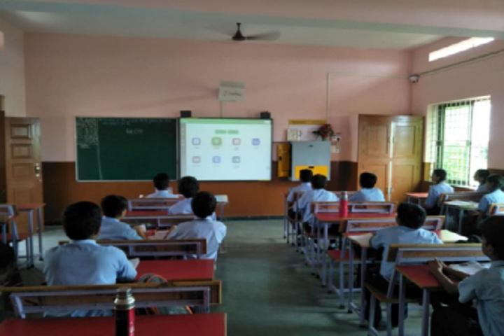 Agragami Convent School-Digital Classroom