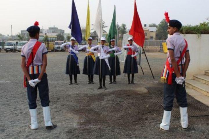 Ahinsa International School-March Past