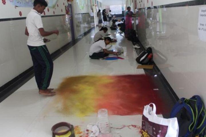 Ahinsa International School-Painting