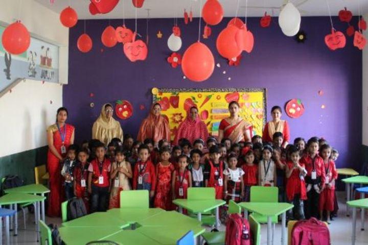 Ahinsa International School-Red Day