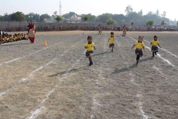 Ahinsa International School-Running Race