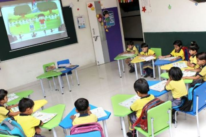 Ahinsa International School-Smart Class