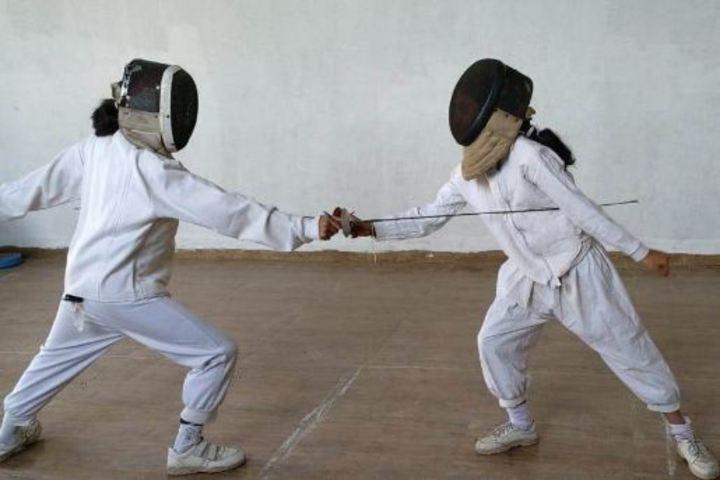 Ahinsa International School-Sword Fight