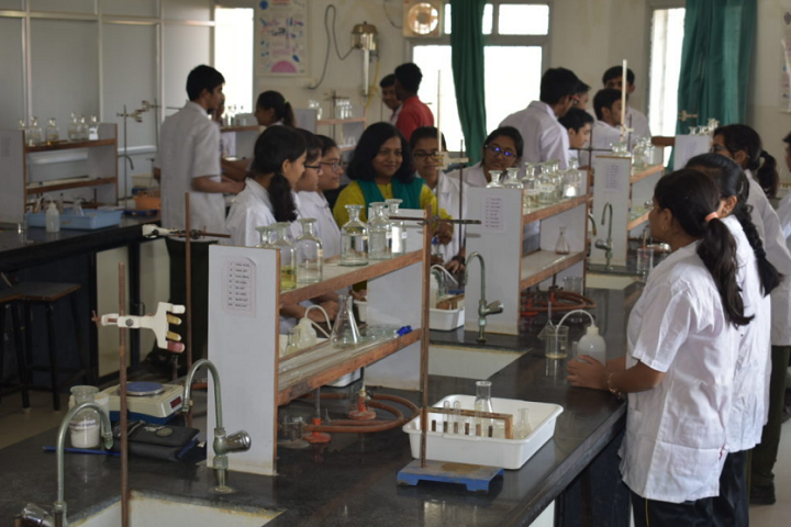Akshara International School-Laboratory